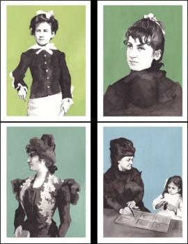 Maria Montessori Biography Cards and Timeline