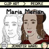 Maria Sibylla Merian Clip Art