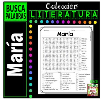 María  -Word search