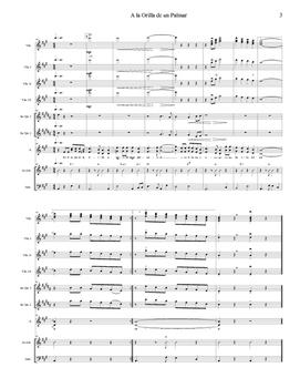 Mariachi: A la Orilla de un Palmar-Advanced Score