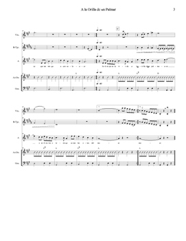 Mariachi: A la Orilla de un Palmar-Easy Score