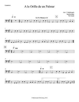 Mariachi: A la Orilla de un Palmar-Intermediate Guitarron