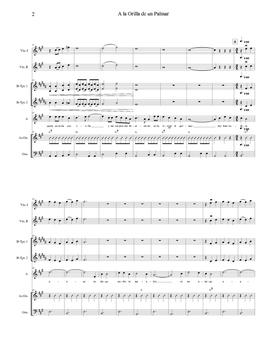 Mariachi: A la Orilla de un Palmar-Intermediate Score
