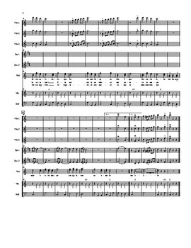Mariachi: Arboles de la Barranca-Advanced Score