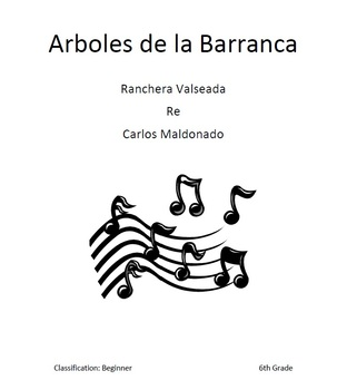 Mariachi: Arboles de la Barranca-Beginner Bundle