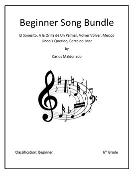 Mariachi: Beginner Song Bundle