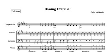 Mariachi: Bowing Exercise 1