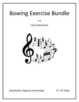 Mariachi: Bowing Exercise 1-4 Bundle
