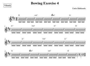 Mariachi: Bowing Exercise 4