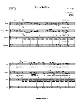 Mariachi: Cerca del Mar Beginner Score