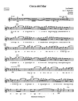 Mariachi: Cerca del Mar Beginner Violin