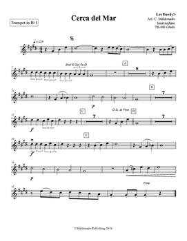 Mariachi: Cerca del Mar-Intermediate Trumpet 1