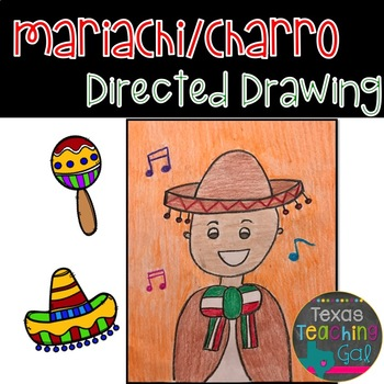 Mariachi Charro Directed Drawing