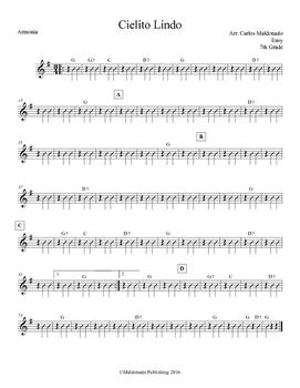 Mariachi: Cielito Lindo-Easy Armonia