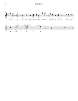 Mariachi: Cielito Lindo-Easy Voice