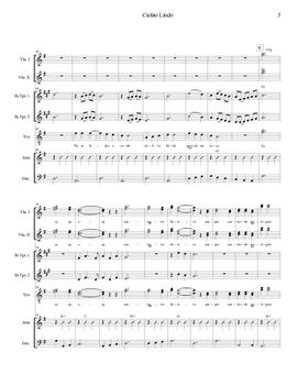 Mariachi: Cielito Lindo-Intermediate Score