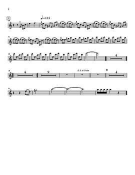 Mariachi: El Aguamielero- Violin 2