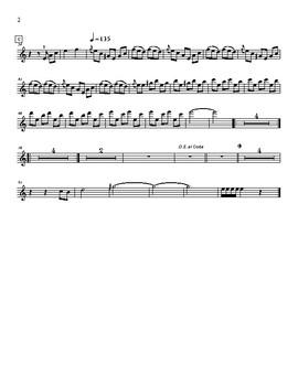 Mariachi: El Aguamielero- Violin 3