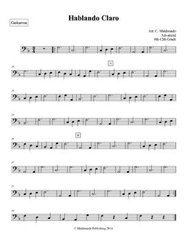 Mariachi: Hablando Claro-Advanced Guitarron