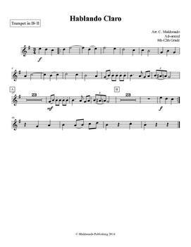 Mariachi: Hablando Claro-Advanced Trumpet II