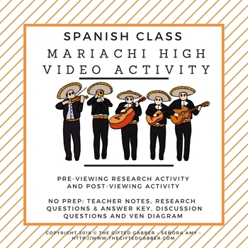 Mariachi High - Research and Video Activity