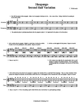 Mariachi: Huapango-Second Half Variation Exercise