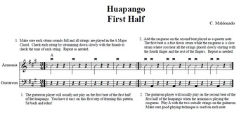 Mariachi: Huapango-Step by Step Exercises