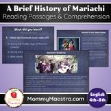 Mariachi Reading Comprehension Boom Cards