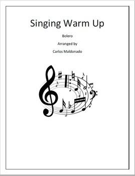 Mariachi: Singing Warm Up-Bolero