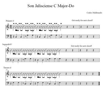 Mariachi: Son Jalisciense Preparation-Primera, Segunda, y Tercera
