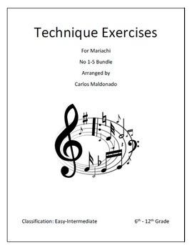Mariachi: Technique No. 1-5  Bundle