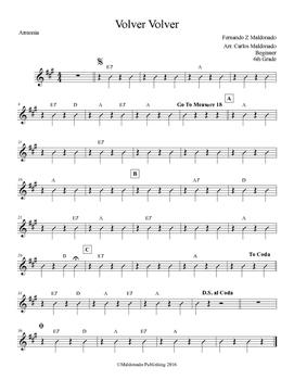 Mariachi: Volver Volver-Beginner Armonia