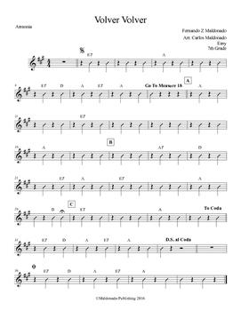 Mariachi: Volver Volver-Easy Armonia