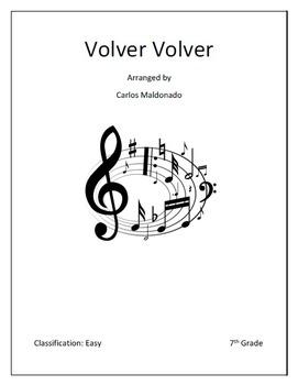 Mariachi: Volver Volver-Easy Bundle