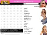 Mariah Carey Wordsearch Black History Month Keywords Music Musician