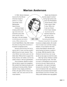 Marian Anderson (Lexile 1090)