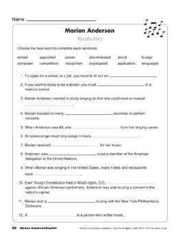 Marian Anderson/Marian Anderson
