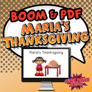 Maria's Thanksgiving - Story and Comprehension (FREE)