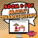 Maria's Thanksgiving - Story and Comprehension