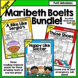Maribeth Boelts Bundle Happy Like Soccer, Those Shoes, A Bike Like Sergio's