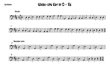 Mariachi: Armonia Warm Up Scales in All Common Styles and Keys