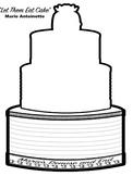 Marie Antoinette Cake Interactive Notebook Organizer