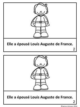 Marie-Antoinette French Reader & Timeline {En français}