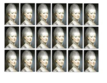 Marie Antoinette Historical Stick Figure (Mini-biography)