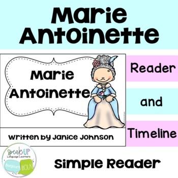 Marie Antoinette Reader & Timeline {English Version}