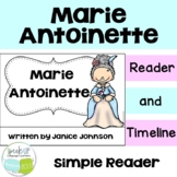 Marie Antoinette Reader & Timeline {English Version}