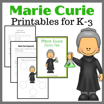 Marie Curie Activity Pack