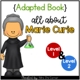 Marie Curie Adapted Book [Level 1 and Level 2]   Famous Wo
