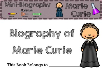 Marie Curie - Biography