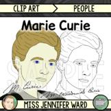 Marie Curie Clip Art